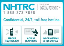 National Human Trafficking Resource Center- child trafficking nonprofit